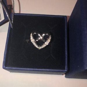 Swavroski Heart Ring